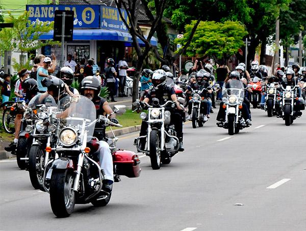 Prefeitura apoia evento de motociclistas