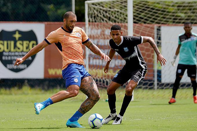 Em jogo-treino, reservas do Bahia vencem o Olímpia no Fazendão