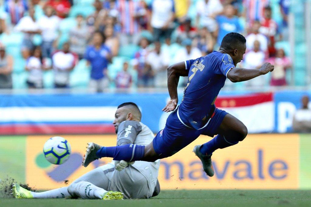 Bahia empata com o Palmeiras e segue sem vencer há sete partidas