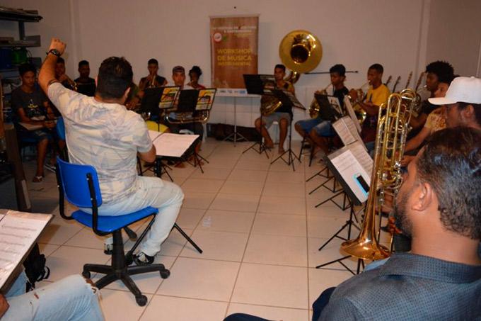 Workshop de Música Instrumental movimenta Conservatório