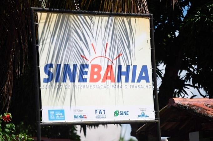 SineBahia divulga vagas de emprego em Mata de São João