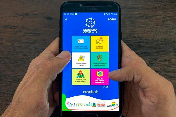 Criado na Bahia, app 'Monitora Covid' será disponibilizado para todo o Brasil