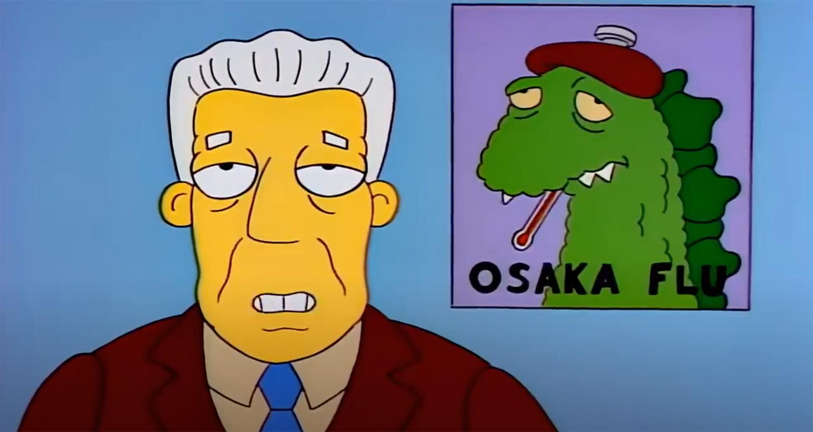 'Simpsons' previram pandemia e insetos assassinos em 1993