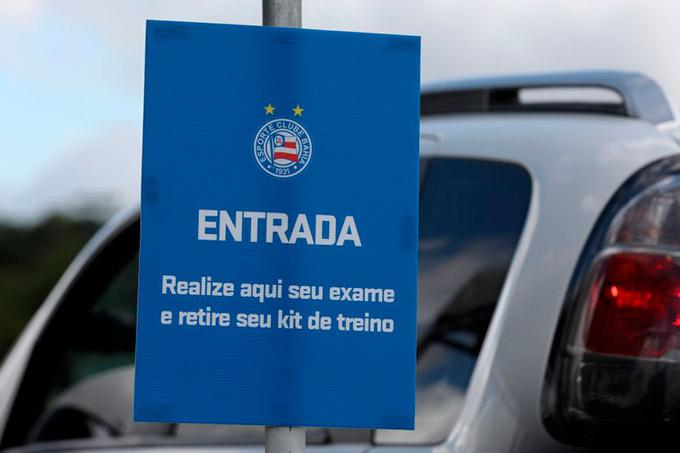 Bahia faz mais uma rodada de exames para Covid-19 nesta segunda-feira