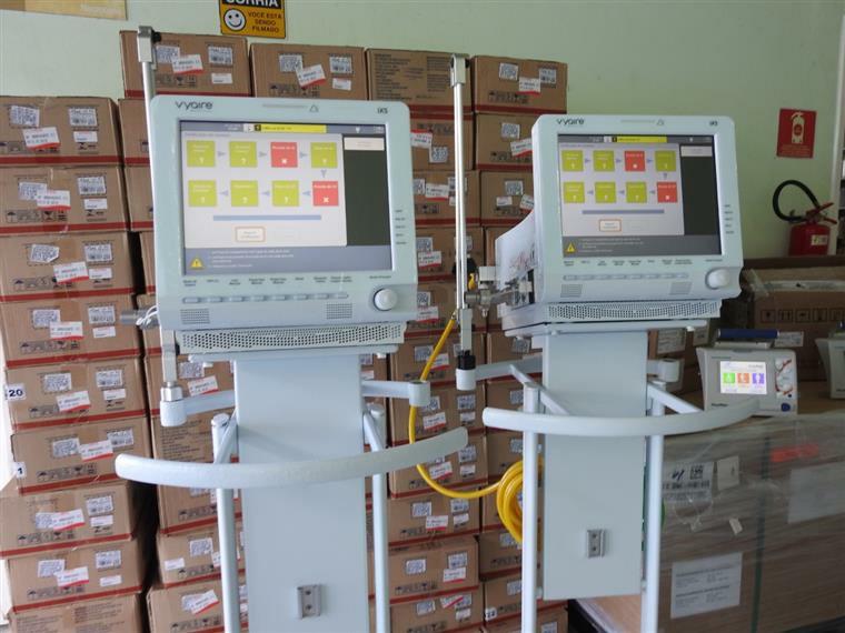 Hospital de Mata recebe respiradores de ventilação artificial