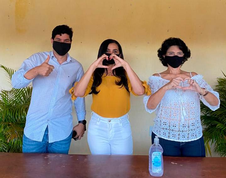 Márcia, Lulu e Paulo Henrique se unem em pré-candidatura da oposição
