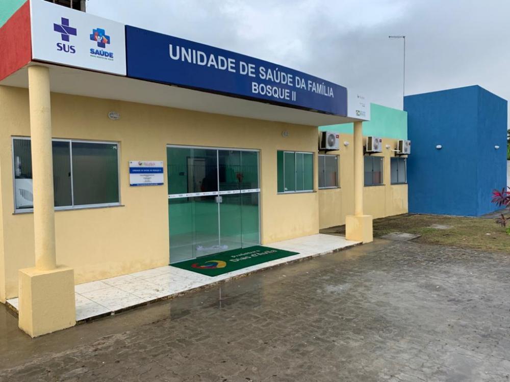 Prefeitura de Dias d'Ávila inaugura unidade de saúde do Bosque II