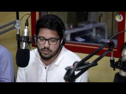 Entrevista do candidato Rafael Pires (PSL) na Laser FM.